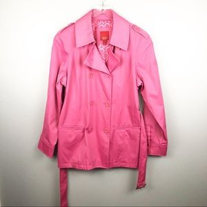 Esprit | Pink Trench Coat Large